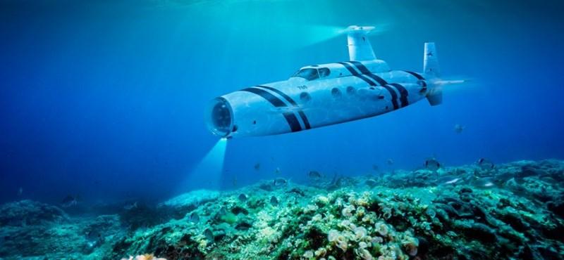 A víz felett már minden földi jót megvett? Akkor már csak egy luxus-tengeralattjáró hiányzik