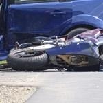 Szörnyethalt egy motoros Békés megyében