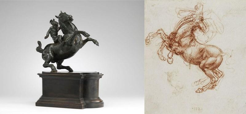 Nyugodtan hihetjük, hogy egy Leonardo-szobor van a Szépművészetiben