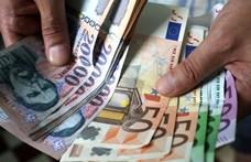 Újra 337 forint egy euró