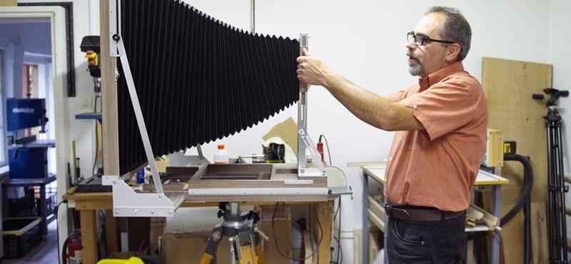 A kamerák Stradivariját építi egy kiugrott agrárgépész Nyíregyházán