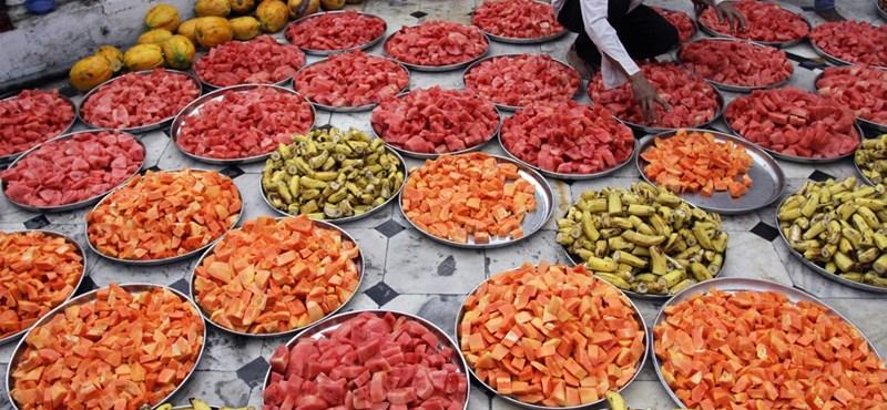 Megbírságolhatják az étellel felvágó szaúdiakat
