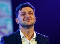 Tévés személyiségekkel töltötte fel hivatalát az ukrán elnök