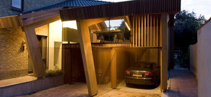 Amikor szándékosan dől a ház - egy rendhagyó modern épület