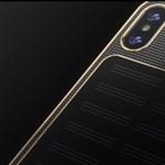 Ez az iPhone X több mint egymillió forintba kerül, mondjuk legalább napelemes