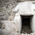 Itt vannak az újabb fotók a csepeli óvoda udvarán kiásott háborús bunkerről