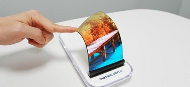 Itt az idő, jön a Samsung összehajtható okostelefonja