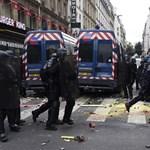 Párizsi összecsapások: a kormány betiltaná a felvonulásokat