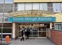 Lezárták a Szent Margit Kórház sebészetét a koronavírus-fertőzések miatt