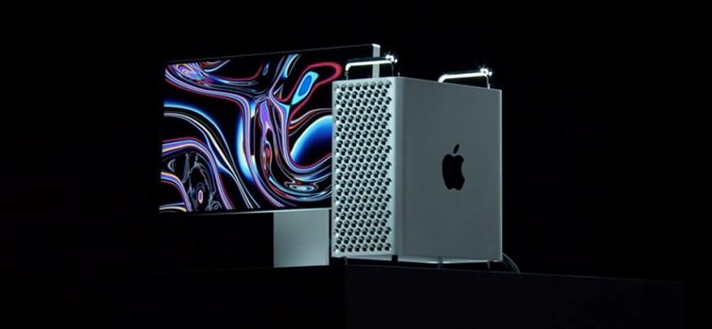 Egy lakás árába kerül az Apple új szuperszámítógépe, ha az ember mindent kér bele