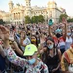 Reagált a Színművészeti kuratóriuma a tüntetésre: Nem kellenek a politikai szólamok