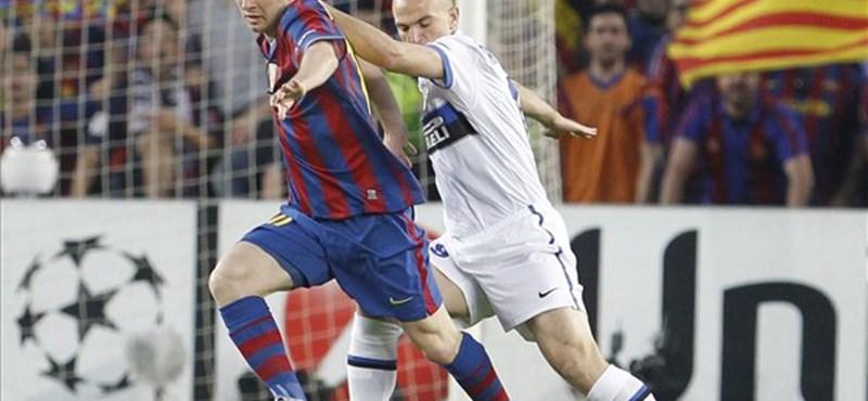 Győzött a Barcelona, de az Inter jutott BL-döntőbe