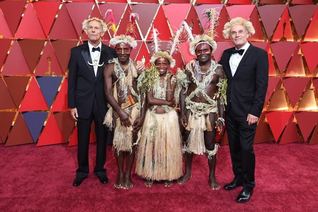 afp.17.02.27. - Hollywood, USA: 89. Oscar-díj - érkezés - A Tanna című film szereplői - Oscar-díj 2017