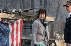 Trumpnak nem sikerült megjegyeznie a tűzvészben megsemmisült város nevét