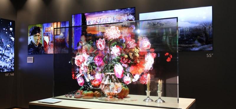 73%-ban átlátszót képernyőt dobott piacra az LG