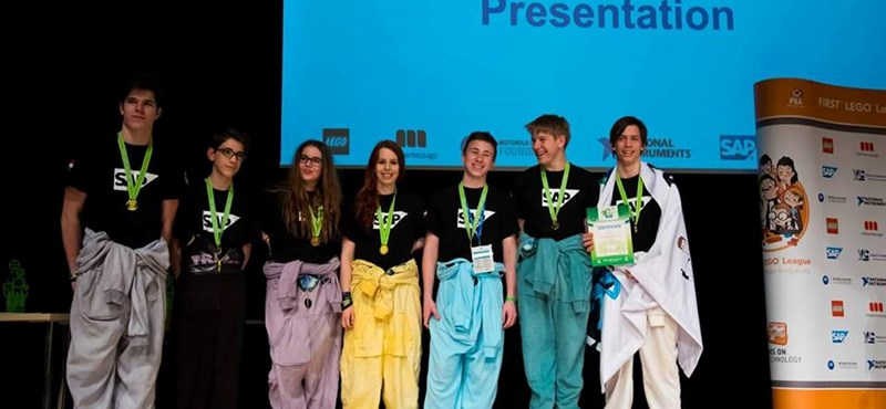 Amerikába utaznak a budapesti robotépítők