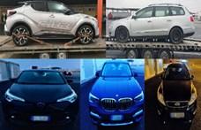 Egymást érték a lopott autók a csanádpalotai határátkelőnél