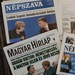 """Orbán """"férfiúi eleganciája"""", Merkel """"durcás érdeklődése"""" – napilapok a kancellári vizitről"""