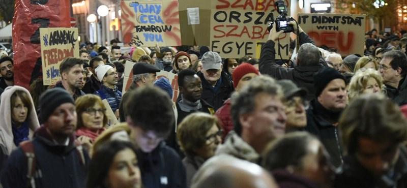 Újabb tüntetés: szombaton ismét utcára vonulnak a CEU-ért és a felsőoktatásért
