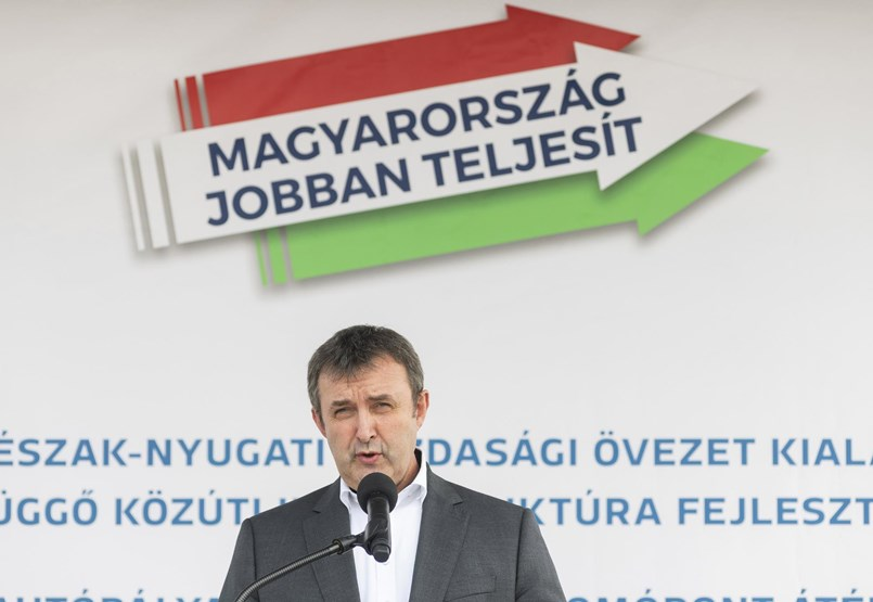 They fell and piled on jobs - there are already 29 government commissioners, right five of them, Laszlo Balkovic