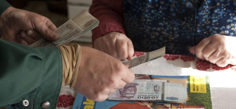 Havi 50 ezernél is kevesebből él 21 ezer magyar nyugdíjas