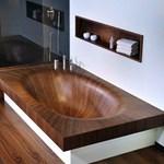 Fürdőkád fából – elegáns, méregdrága és gyönyörű