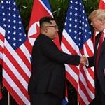Trump számot cserélt Kim Dzsong Unnal