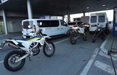 Háromból két motor lopott volt egy román autós szállítmányában