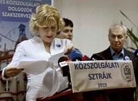 Sztrájkot hirdettek a közszolgák októberre