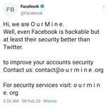 Feltörték a Facebook Twitter- és Instagram-oldalát