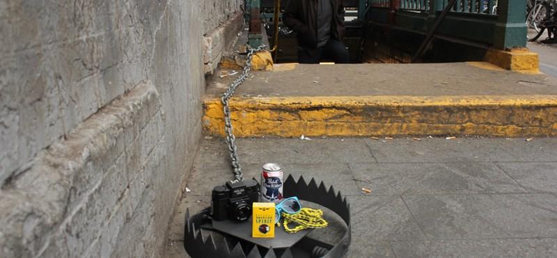 Urban traps: gyanútlan városlakókra vadászva