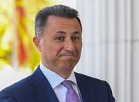 Macedóniában vizsgálják, kinek a segítségével szökött meg a volt miniszterelnök