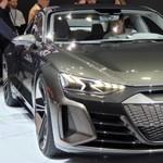 Európába jött az Audi Tesla-verőnek ígérkező sportos szedánja, megnéztük