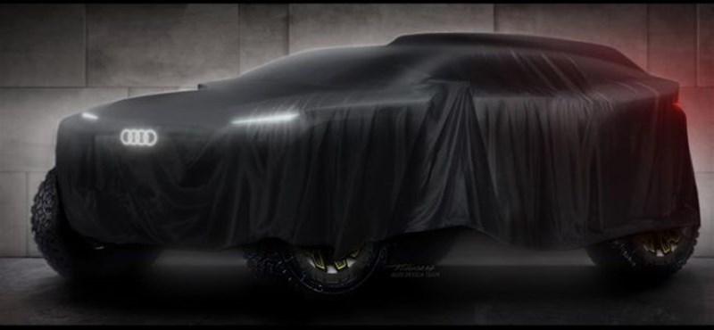 Beszáll az Audi a Dakar-raliba, ráadásul egy elektromos autóval