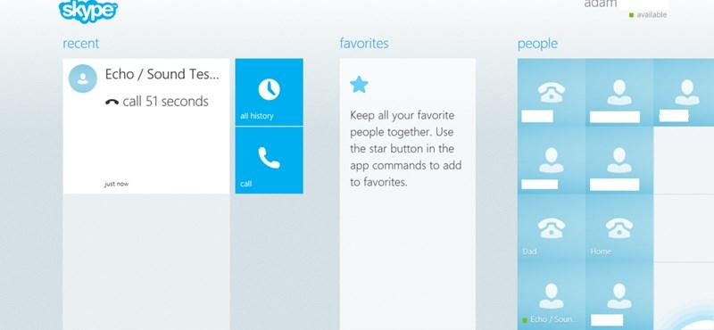 Kiszivárgott fotón a megújuló Skype