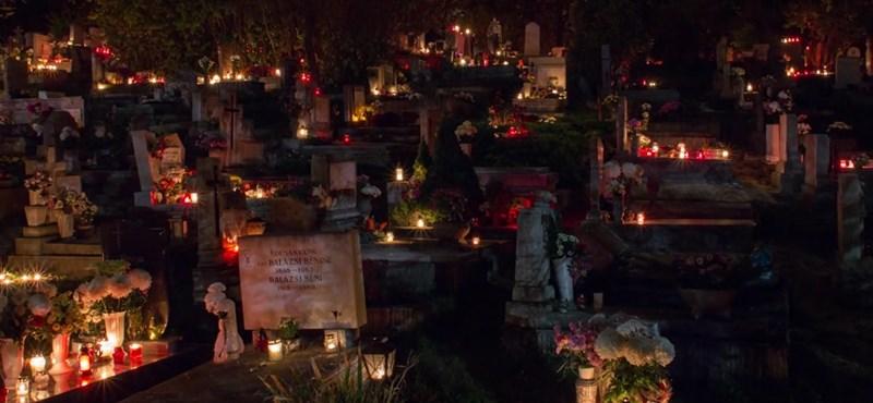 Hipnotikusan szép hyperlapse video készült a budaörsi temetőben