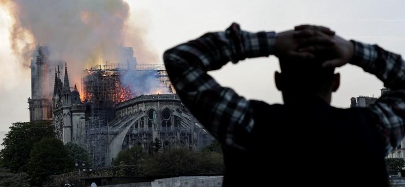 Budapest is pénzt küld a Notre-Dame újjáépítésére