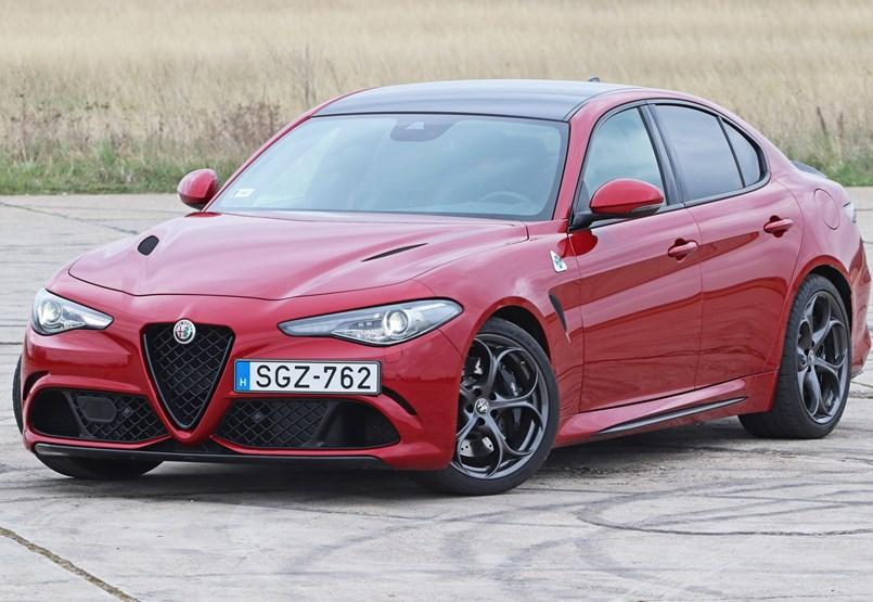 Családi Ferrari: teszten az új Alfa Romeo Giulia Quadrifoglio