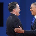 Csütörtökön együtt ebédel Obama és Romney