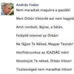 Amit rombolt Bajnai, a Sátán / Felépíté Istennel az Orbán!