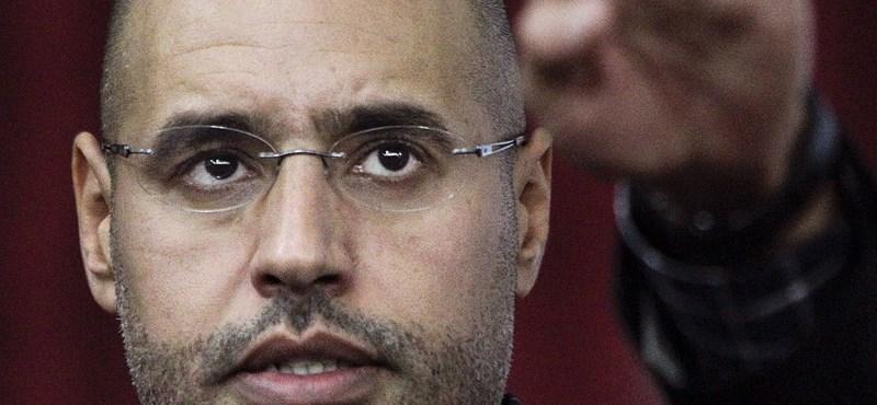 ÁNT: Kadhafi fia feladná magát Hágának