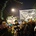 A La Repubblica is írt a hétfő esti diáktüntetésről