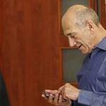 Olmert hétfőn börtönbe megy, de még bizonytalan, mikor szabadul
