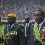 Bemenetelt a hararei stadionba Zimbabwe új elnöke – videó