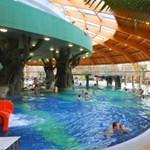 Átadták az Aqua-Palace élményfürdőt
