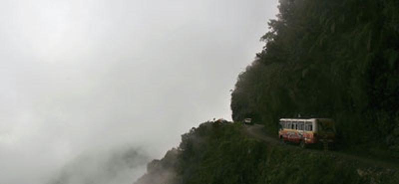 Autózni a 'Halál útján'