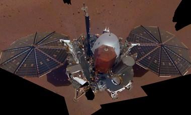 Elkészítette az első igazi szelfit a Marson állomásozó InSight
