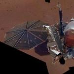 Lenyűgöző fotó: elkészítette az első igazi szelfit a Marson állomásozó InSight