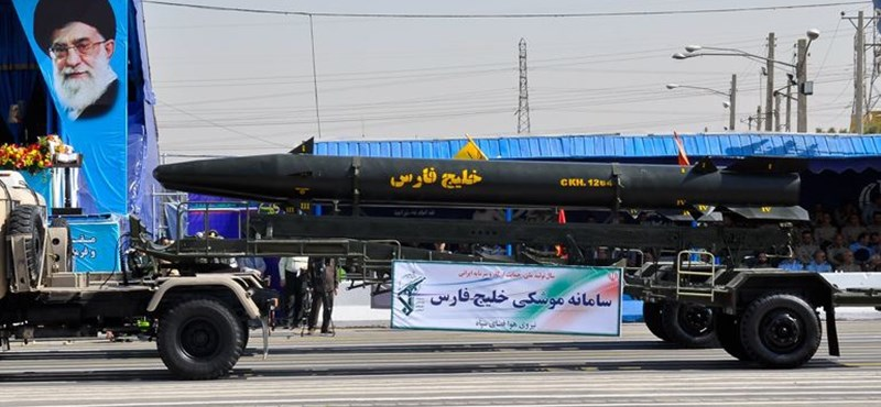 """Irán elismerte: """"fontos"""" rakétakísérletet hajtottak végre"""