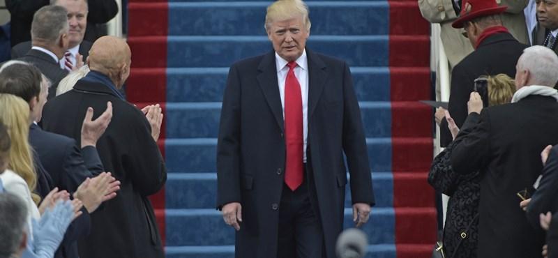 Trump sem hitte volna, ki áll be az őt dicsérők sorába